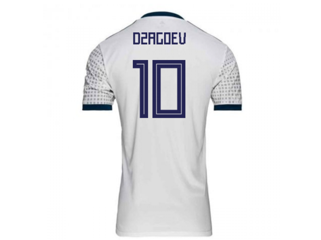 5bbc8ba8a65 2018-2019 Russia Away Adidas Football Shirt (Dzagoev 10 ...