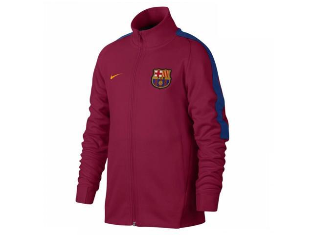 07938668a 2017-2018 Barcelona Nike Authentic Franchise Jacket (Red) - Kids ...