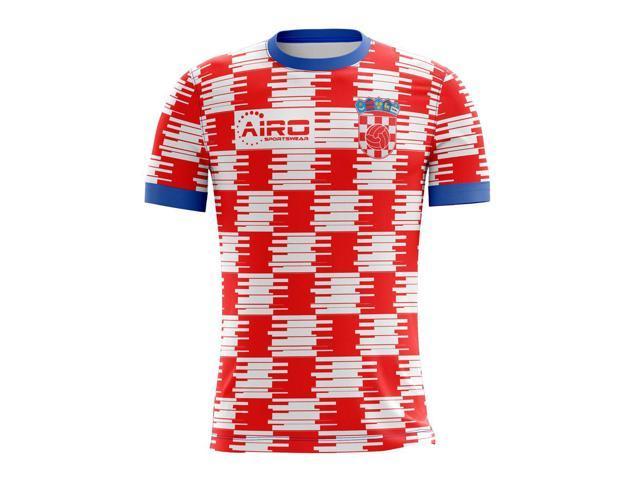 707a33996 Camisa de pelota de fútbol americano de concepto hogar 2018-2019 Croacia  (niños)