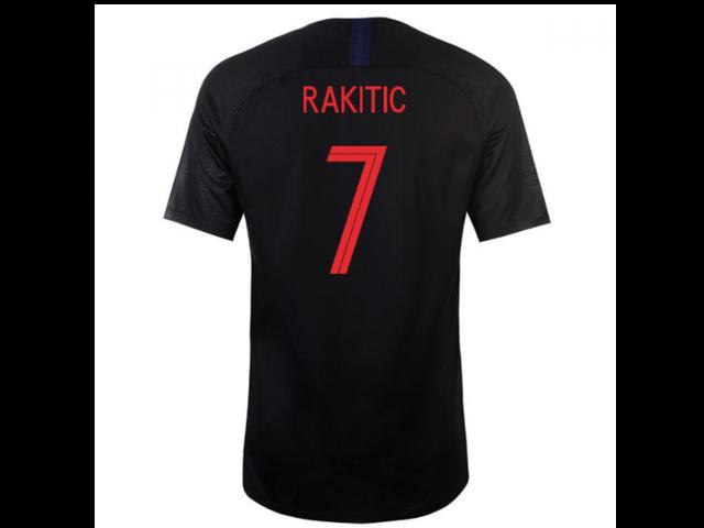 ... Concept Football Shirt  sale retailer 15c85 c10f4 2018-2019 Croatia  Away Nike Football Shirt (Rakitic 7) ... 75ccba737