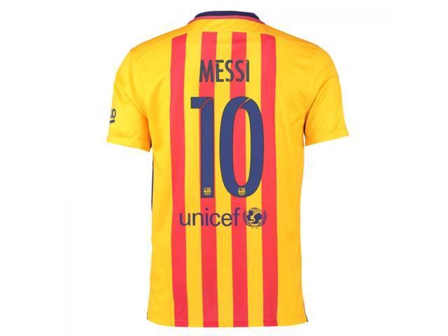 d2ebf581fd1 2015-16 Barcelona Away Shirt (Messi 10) - Kids - Newegg.com