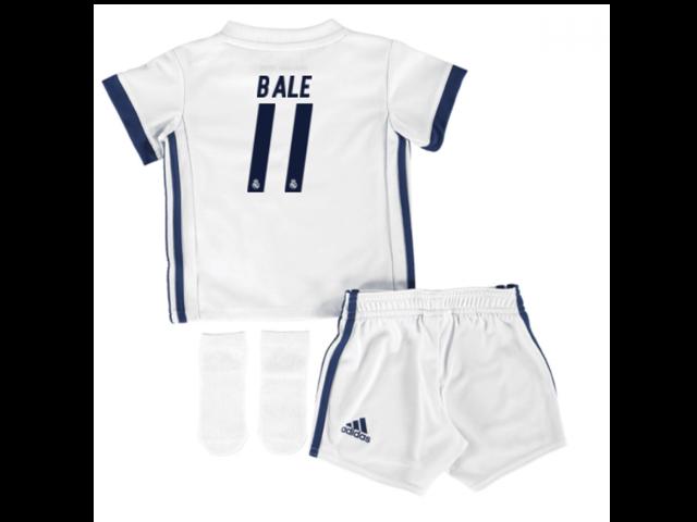8c5395b34 2016-17 Real Madrid Home Adidas SMU Mini Kit (Bale 11) - Newegg ...