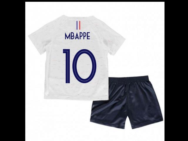 premium selection 29111 c1520 2018-2019 France Away Nike Little Boys Mini Kit (Mbappe 10) - Newegg.com