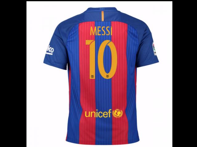21b07bcf6ef 2016-17 Barcelona Sponsored Home Shirt (Messi 10) - Kids - Newegg ...