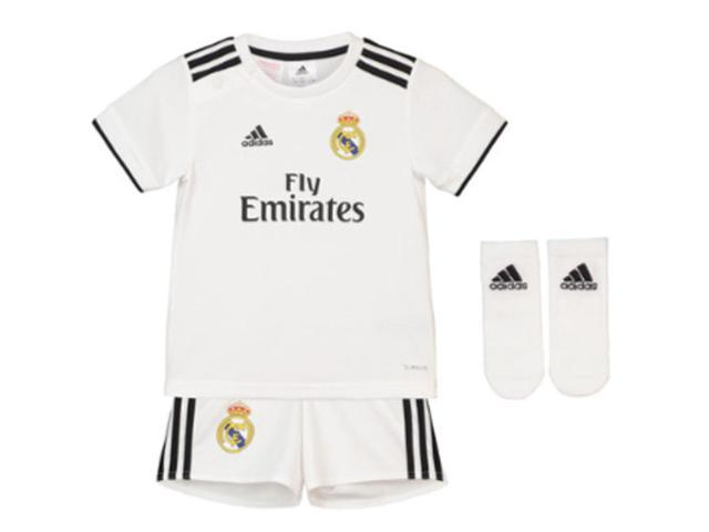 51ae59432 2018-2019 Real Madrid Adidas Home Baby Kit - Newegg.com