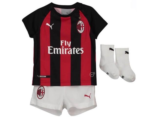 2018-2019 AC Milan Puma Home Baby Kit - Newegg com