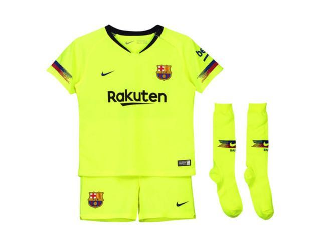 2018 2019 Barcelona Away Nike Little Boys Mini Kit Newegg Com