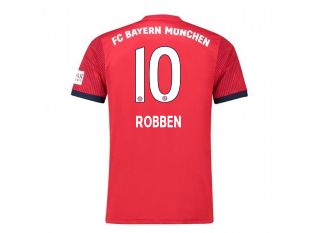 10e5068f5 2018-2019 Bayern Munich Adidas Home Football Shirt (Robben 10) - Kids