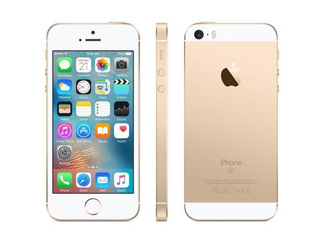 Apple iPhone SE, GSM Unlocked, 32GB - Gold