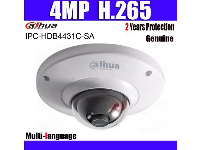 Dahua IPC-HDB4431C-SA 3 6mm 4mp H 265 Mini Dome IP Camera Built-in Micro  PoE Network Dome Security Multi-language Camera (NOT HDB4431C-A) -  Newegg com