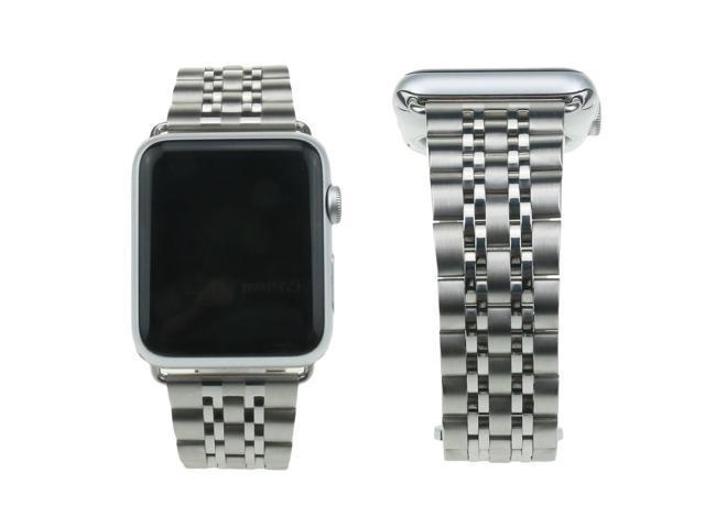 84c91aa9e20 Bandas de accesorios de acero inoxidable Hantop Apple Watch banda 38mm para  iWatch serie 1/