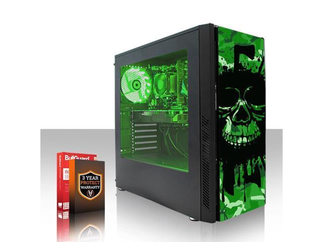 Fierce EXILE Gaming PC, Fast AMD Ryzen 3 2200G 3 7GHz, 1TB HDD, 8GB RAM,  Radeon Vega 8, Windows 10 Compatible (406243) - Newegg com