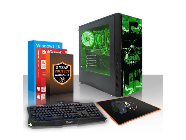 Fierce CHEETAH Gaming PC, Fast Intel Core i7 8700K 4 5GHz, 1TB SSHD, 16GB  RAM, GTX 1060 6GB, Windows 10 Installed, Keyboard and Mouse (500499) -
