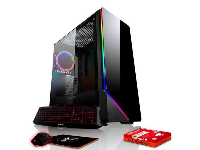 Fierce CHEETAH Gaming PC, Fast Intel Core i7 8700K 4 5GHz, 1TB SSHD, 16GB  RAM, GTX 1060 6GB, Windows 10 Compatible, Keyboard and Mouse (500055) -