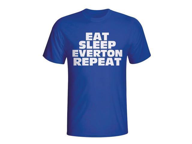 31fbc85d Eat Sleep Everton Repeat T-shirt (blue) - Newegg.com