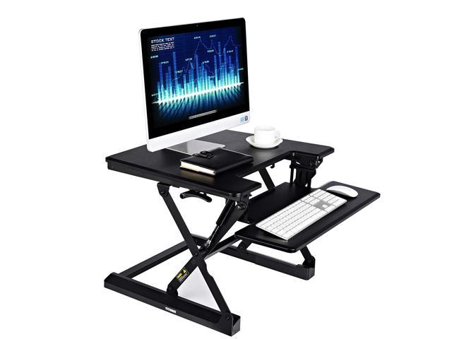 the best attitude acdf9 65de4 Height Adjustable Standing Desk Converter Riser, 27