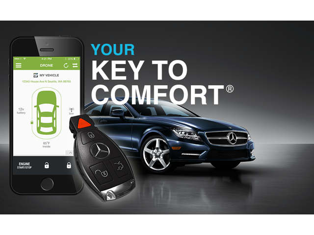 SmartKey Starter® SKS211C. The original seamless remote start for your Mercedes Benz.