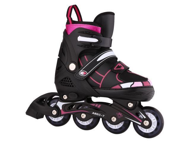 Unisex Indoor Outdoor Roller Children Tracer Adjustable Flash Wheel Inline Skate