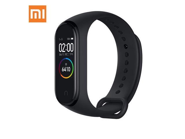 "Xiaomi Mi Band 4 0.95"" 3 Color AMOLED Screen Smart Bracelet Smartband Heart Rate Monitor Sleep Monitor Fitness Tracker Bluetooth Sport 5ATM Waterproof Smart Band Standard Version (Global Version)"