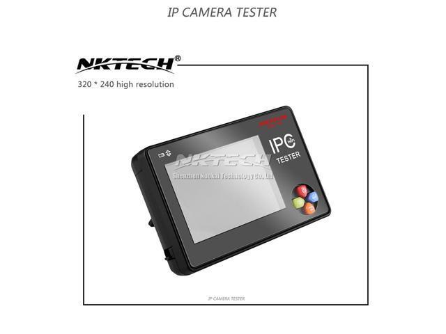 NKTECH IP Camera CCTV Tester NK-795 Security Monitor Analog CVBS Cameras  Test WiFi 4K 3 5