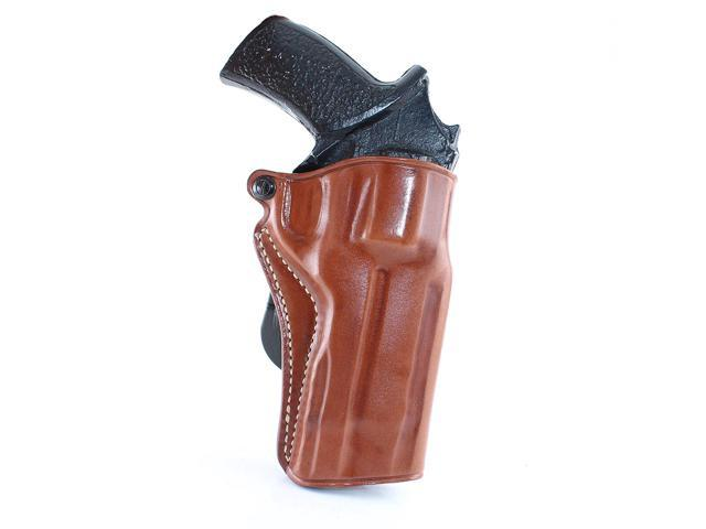 Masc Leather Paddle Holster Fits Chiappa Rhino 5