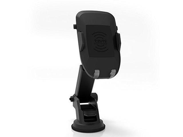 lowest price b80d0 001a2 tzumi Dashboard Phone Mount – Universal Fit Shock-Proof Wireless Charger  Dock for the Car, Home & Office - for iPhone X 8/8 Plus 7 7 Plus 6s Plus 6s  ...