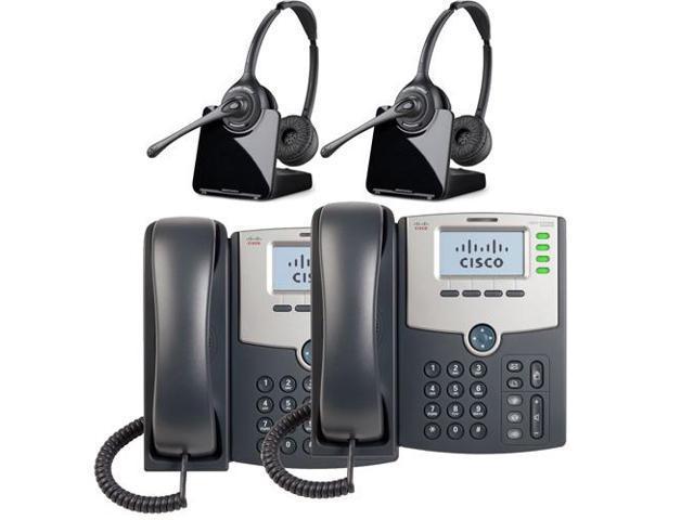 Plantronics Binaural Wireless Headset System Cs520 Cisco