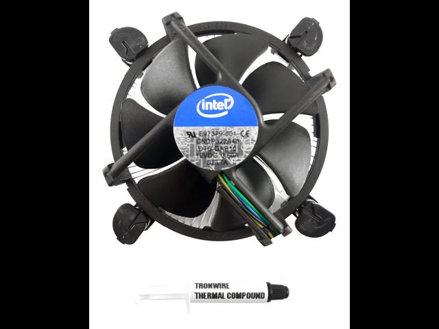 NEW Intel E97378 CPU Heatsink Fan Cooler i3 i5 i7 1150 1151 1155 Copper Core