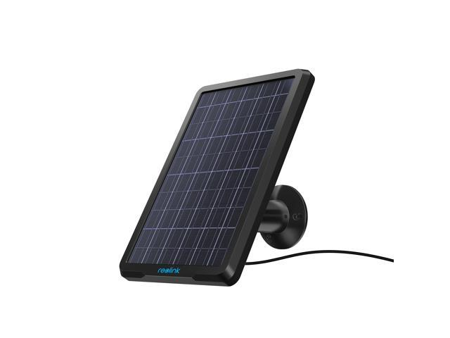 d3f48d7dc7f Reolink Solar Panel Power Supply for Wireless Outdoor Rechargeable Battery  Powered IP Security Camera Reolink Argus 2 and Argus Pro , Waterproof, ...