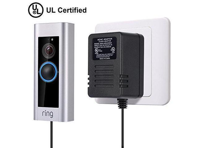 Power Adapter for Ring Doorbell Pro, [UL Certification] Hotop Transformer  24V AC Power Supply Manufactured for Ring Video Doorbell Pro - Newegg com