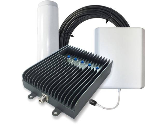 SureCall Fusion5s Voice, Text & 4G LTE Cell Phone Signal Booster for Large  Buildings up to 6,000 sq ft - Omni/Panel Antennas - Newegg com