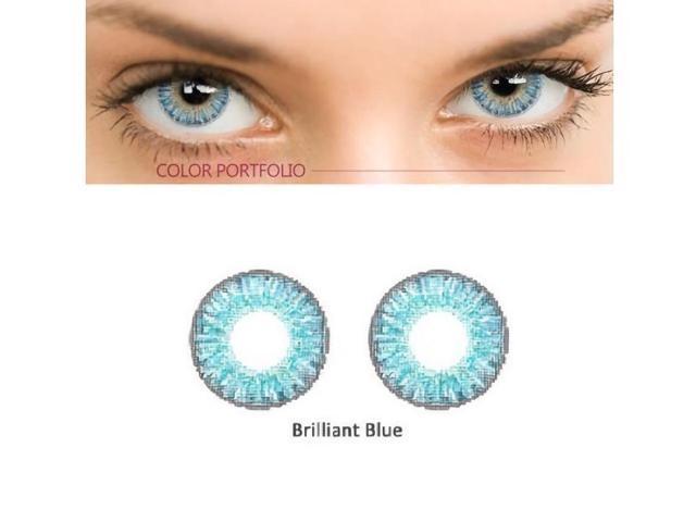 10bd1fba9aa 2PCS SET Beautiful Fashionable Soft Big Eye Makeup Coloured Contact Lenses