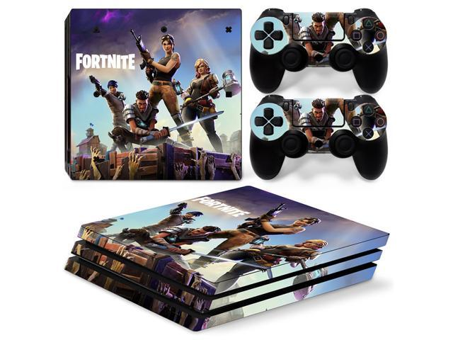 fortnite battle royale ps4 pro skin sticker decal for sony playstation 4 pro console and 2 - playstation 4 pro fortnite