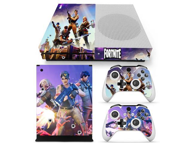 Game Fortnite Skin Sticker Decal For Microsoft Xbox One Slim Console