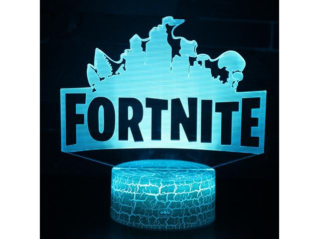 Fortnite Souvenir 3D Lamp Chug Jug Changeable Mood Lamp 7 Color Light Base  Cool Night Light 5dcb5cdd8