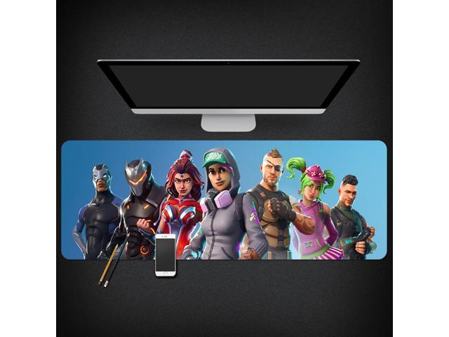 Fortnite High Quality Mouse Pad Gamer Play Mats Large Gaming Mouse Pad  Keyboard Pad PC Desk Pad (800 x 300 x 3 mm) - Newegg com