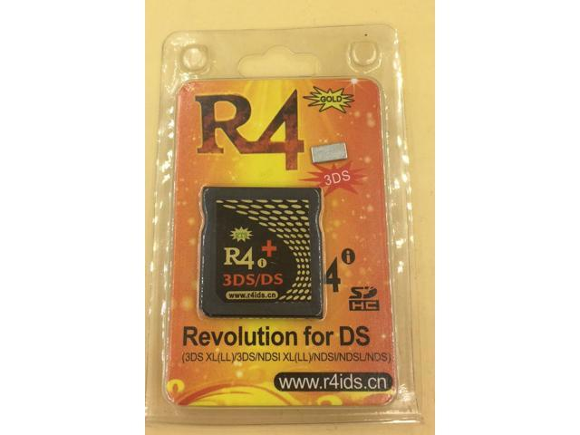 R4i GOLD 3DS PLUS Card for New 3DS /3DS (LL,XL) Ver 11 9 0-39 /2DS/DSi/DS  Lite - Newegg com