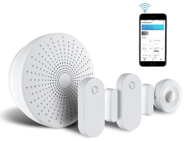 eco4life by Sonicgrace WiFi Wireless Smart Home Security Starter Kit Home Automation System