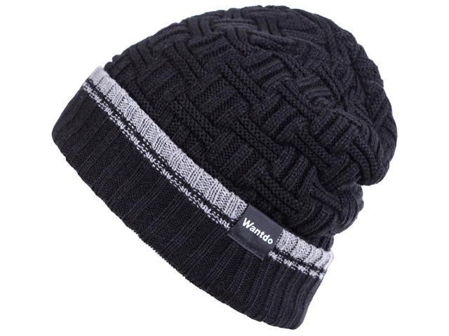 43f5e9e5ae0 Wantdo Men's Faux Fur Trapper Hat Waterproof Warm Winter Trooper Snow  Hunting Hat with Ear Flap