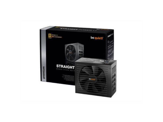 Straight Power 11 750W 80 PLUS Gold ATX12V v2.4 /& EPS12V v2.92 Power be quiet