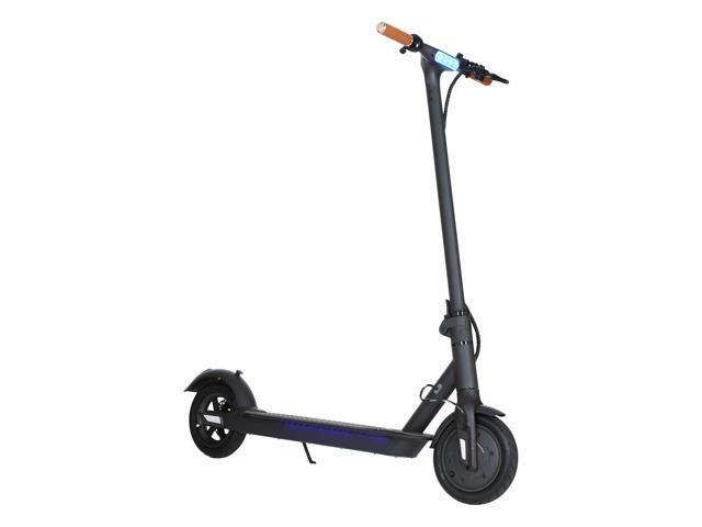 "GoPowerBike Commuting Electric Scooter 350W - 8"" Tires - 15MPH & Up to 11 Miles Range - Digital LCD Screen Speedometer - LED Headlight - Easy Fold-n-Carry Design, Lightweight Adult Electric Scooter"