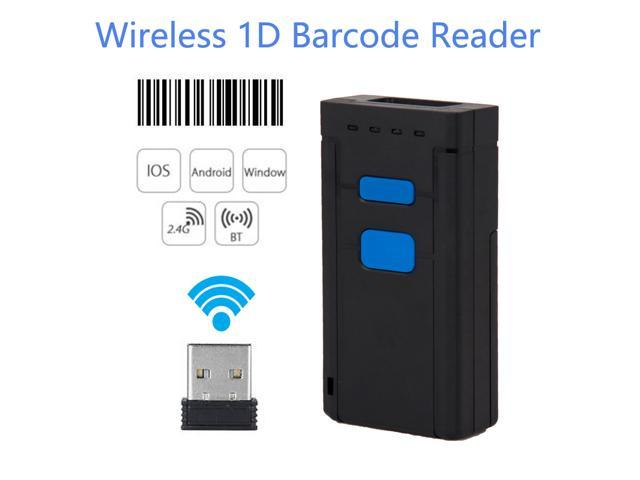 Nexanic Bluetooth Wireless 1D Barcode Scanner Reader Support IOS Android Windows