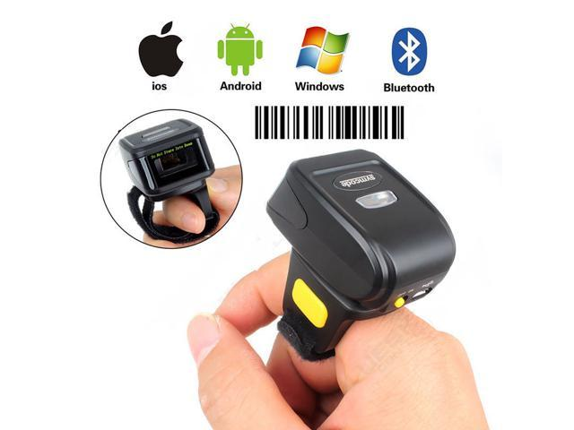 Nexanic Mini Wireless 1d Barcode Scanner Wearable Bluetooth 1d Bar Code Reader Ring Barcode Scanner Neweggcom