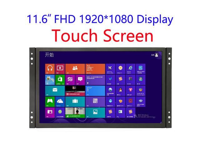 12 inch Industrial Display Touch Monitor 1920*1080 FHD IPS Open Frame Capacitive Touch Screen 11.6 inch Touch Display with VGA/HDMI Speakers