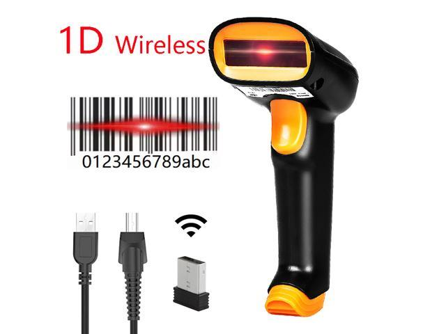 Nexanic Netum S2 Wireless 1D Barcode Scanner Nteumm S2 Cordless 1D Bar Code Reader iOS Windows Android