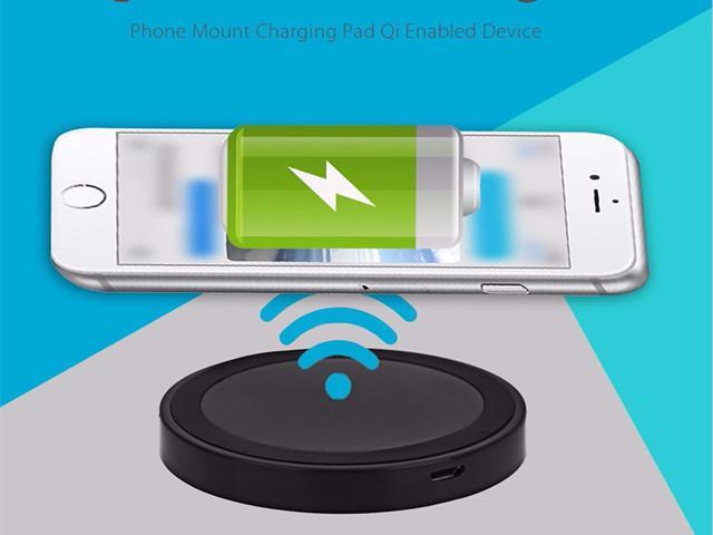 detailed pictures 48a75 1d5ff Hot Sales Durable Q5 Wireless Charger Phone Mount Charging Pad Qi Enabled  Devices for iPhone 7 Plus/ 7 /Samsung Note 5/S7 with USB Port - Newegg.com