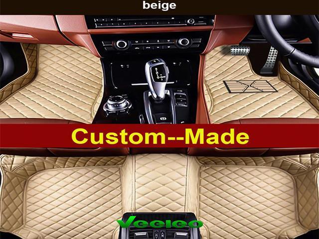 Car Leather Floor Mats For Bmw 6 Series F06 Gran Coupe 4 Door 2017