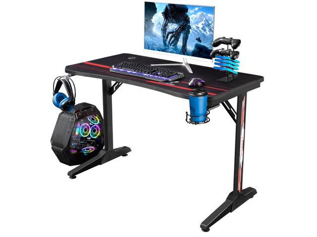 Devoko Gaming Computer Desk Racing Style Home Office Desk With - Sale: $125.99 USD (7% off)