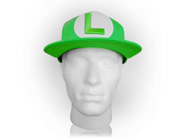 abcd82f430bbb NINTENDO Super Mario Bros. Luigi Symbol Snapback Baseball Cap ...