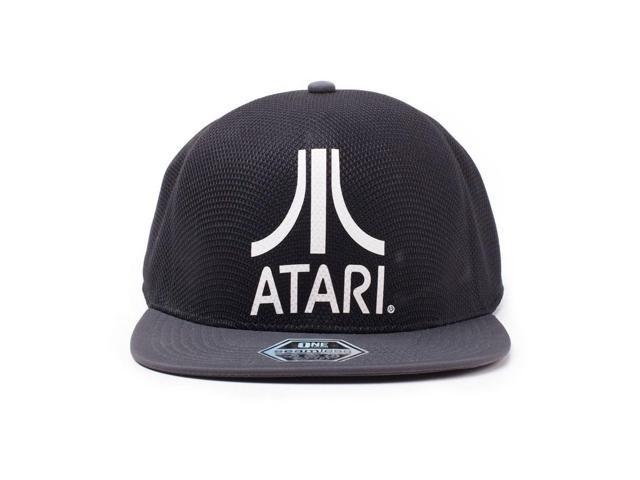 huge selection of 37c69 15678 ATARI Logo Seamless Cap, Black Grey (TC702525ATA)